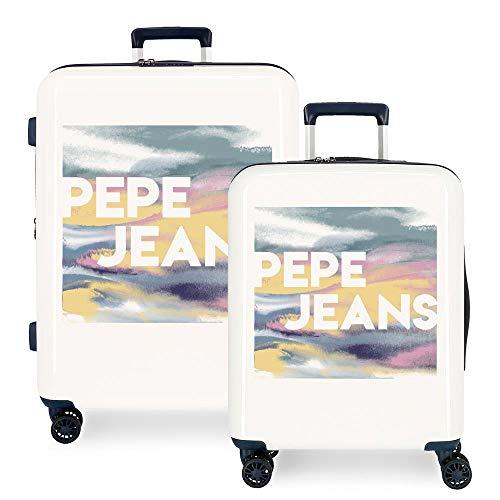 Juego de Maletas Pepe Jeans rígidas 55-70 cm Blossom