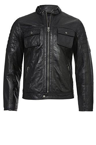 Pepe Jeans Cinnamon PM401424 Chaqueta, Negro (Black 999), Large para Hombre
