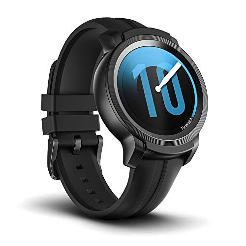 Ticwatch E2 Smartwatch Wear OS di Google, Fashion Smart Watch, 5 ATM a Prova d'Acqua, con monitoraggio del Battito Cardiaco, GPS, Google Assistant, Bluetooth Smart Watch