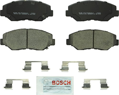 Bosch BC914 QuietCast Premium Ceramic Disc Brake Pad Set For: Acura ILX; Honda Accord, Civic, CR-V, Element, Fit, Front