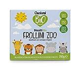 Carioni Food & Health Galletas ecológicas para niños con Forma de Animales - 250 gr (Paquete de 6 Piezas)