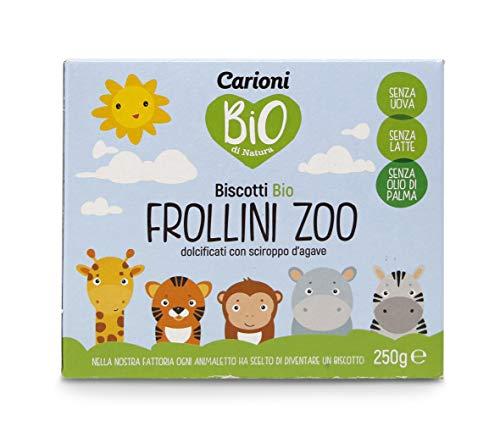 Carioni Food & Health bio-rollini in diervorm – dierentuin, 250 g, 6 stuks