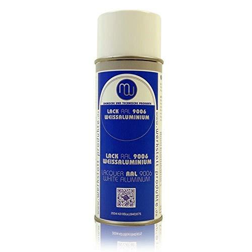 MW Lackspray RAL 9006 Weißaluminium 400ml Sprühdose Farb Spray Sprühlack
