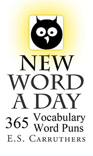 New Word A Day: Vocabulary Cartoon Puns (English Edition)
