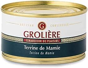 フランス産のフォアグラ入り(17%)缶詰・テリーヌ(パテ・ド・カンパーニュ)