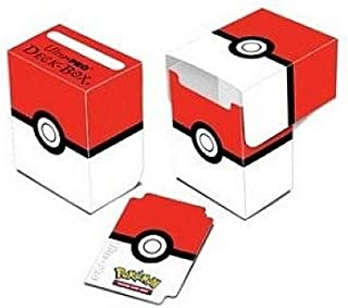 Ultra Pro Pokemon Card Supplies Deck Box Red & White Pokeball