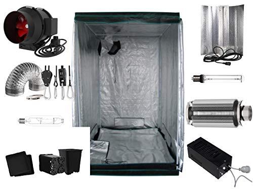 Nito GmbH Growbox Komplettset 80 x 80 x 180 cm Natriumdampflampe 400 Watt (400 Watt Eco)