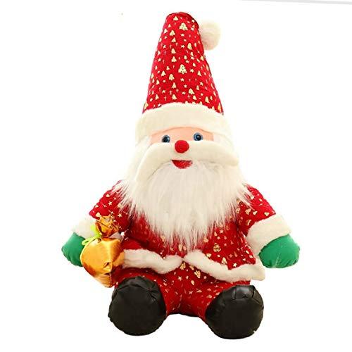 Naughty baby Santa Claus Poupée Poupée Poupée Peluche Cadeaux De Noël Ornements À Envoyer Les Filles Cadeaux De Noël, 35Cm