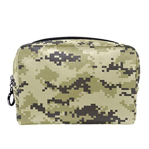 Cosmetic Bag Womens Makeup Bag for Travel to Carry Cosmetics Change Keys etc,Modern Fashion Camo