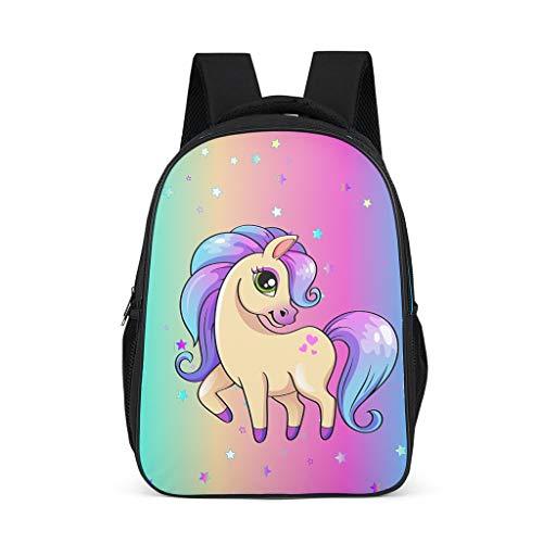 Unicorn Teenage's Backpacks Large Causal for Adult grey onesize