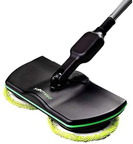 L@CR Elektronischer Kabelloser Mop, 3 In 1 Kabelloser Spin-Bodenreiniger Für Alle Oberflächen - Wiederaufladbarer Angetriebener Bodenreiniger