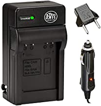BM NB-6L Battery Charger for Canon PowerShot S120, SX170 is, SX260 HS, SX280 HS, SX500 is, SX510 HS, SX530 HS, SX540 HS, SX600 HS, SX610 HS, SX700 HS, SX710 HS, ELPH 500 HS, D10, D20, D30 Cameras