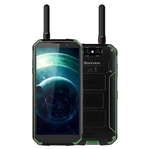 U-unicorn Smartphone Móvil BV9500 de teléfono Pro robusta, 6 GB + 128 GB, IP68 a prueba de polvo impermeable a prueba de golpes, walkie-talkie, Dual Volver Cámaras, 10000mAh batería, Side Place identi