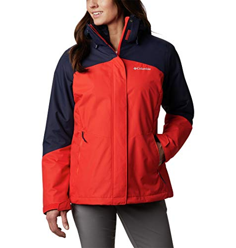 Columbia Damen Bugaboo II Fleece Interchange Jacke, mutige orange, XS