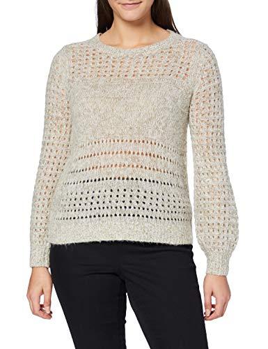 Esprit 080ee1i331 Suéter Beige ( 274/Beige 5 ) , XL para Mujer