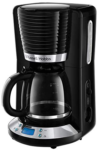 Russell Hobbs Inspire Filter Coffee Machine, 1.25 Litre Carafe (10 Large Cups)
