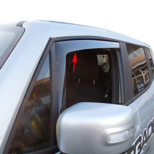 Deflettori daria per finestrino anteriore antipioggia Omac GmbH 2 pezzi