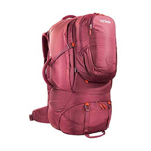 Tatonka Great Escape 75+10 Sac à dos de voyage avec sac à dos amovible (10 l) pour homme et femme 85 l 74 x 33 x 23 cm, Mixte, 1440, Rouge bordeaux., 74 x 33 x 23 cm