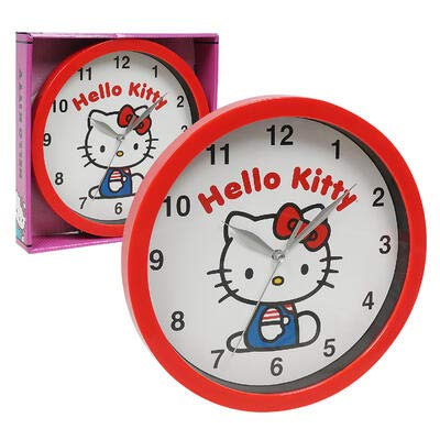 Hello Kitty 9.5 in. Wall Clock for Toddler/Kids/Teen Girls for Room Decoration 2020