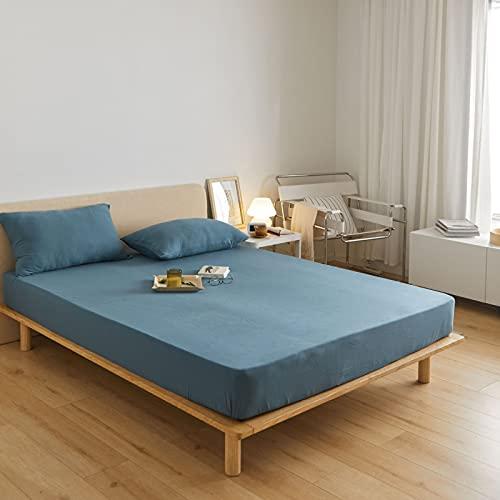 BOLO Adecuado para sábanas, no necesita planchado, microfibra súper suave, de fácil cuidado, 120 cm x 200 cm