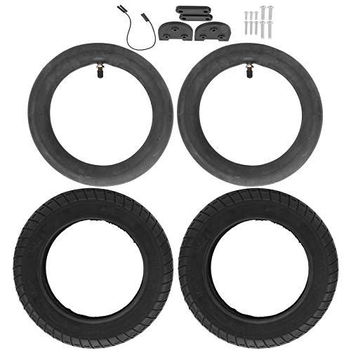 SALUTUYA Mejor pasabilidad de los Accesorios de los neumáticos Cubren el Juego de Aumento del Tubo Interior del neumático, para X, Scooter eléctrico iaomi M365