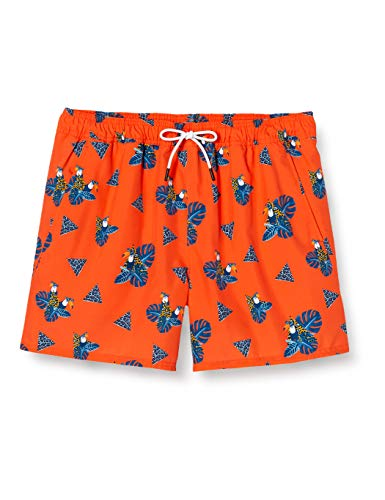 Oakley Herren Toucan Tropics 16 Beach Short Badehose, Toukan Magma Orange, Medium
