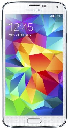 Samsung G900 Galaxy S5 Smartphone, 16 GB, Bianco