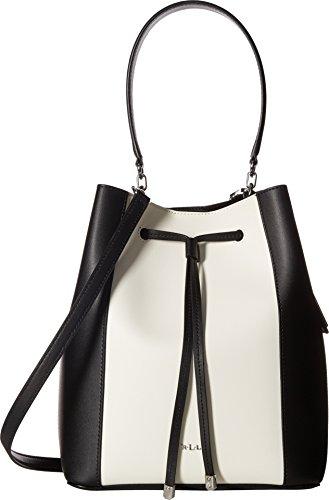 LAUREN Ralph Lauren Women's Dryden Debby Drawstring Black/Vanilla One Size
