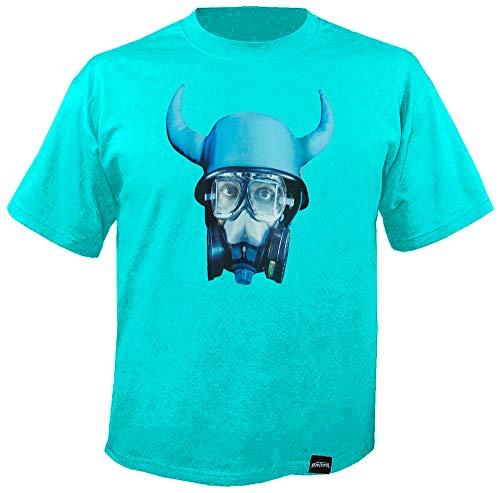 MARTERIA - Aliens - Turquoise - T-Shirt Größe M