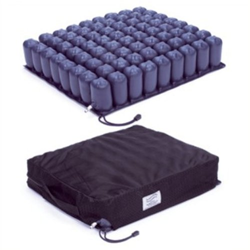 Debbon Air Sitzkissen mit 2 Ventilen 48x44x6cm(Dietz), Anti-Dekubitus-Sitzkissen