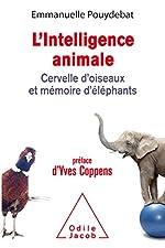 L'Intelligence animale d'Emmanuelle Pouydebat