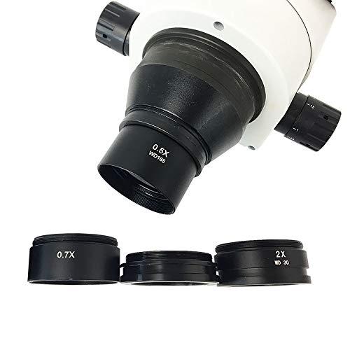 DyNamic 0.3X 0.5X 0.7X 1.5X 2.0X Extra Objectief Barlow-Lens Voor Verrekijker Trinoculaire Stereomicroscoop - 1.5X