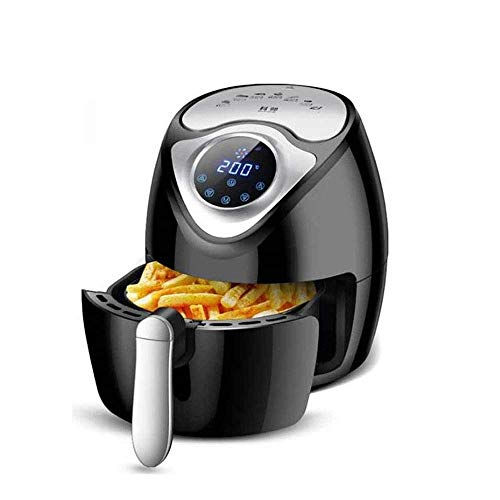 NNZZ Freidora de aire digital multifuncional, crujiente, cocinar, asador, deshidratar; características de cocina 7 en 1; accesorios de freidora de aire, estufa de horno de freidora de aire