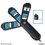 Aufbewahrungsgehäuse für Speicherkarten mit Micro SD Kartenleser (USB) - Im Schweizer...