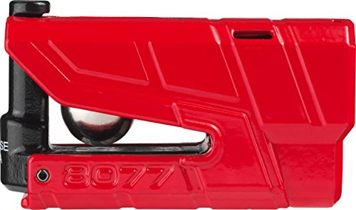 ABUS AB70440 GRANIT Detecto XPlus 8077 Vorhängeschloss, rot, 48mm