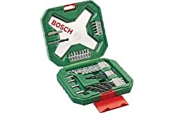 Includes: 5 wood, 5 HSS metal and 5 masonry drill bits. 3 socket wrenches. 13 x 25mm assorted screwd Carry case. Size H16.5, W4, D17.5cm. EAN: 3165140563147. Ideal for general drilling and screwdriving needs with handy removable holders for easy acce...