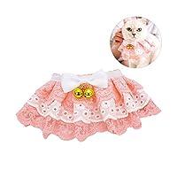 ペット猫かわいいネッカチーフ首輪スカーフ犬ペットよだれかけバンダナ首輪犬ネックレスネクタイ蝶ネクタイ子犬プリンセスウェディングアクセサリー-Pink-