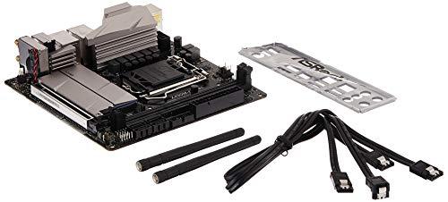 ASRock Z490M-ITX/ac Supports 10 th Gen Intel Core Processors (Socket 1200) Motherboard