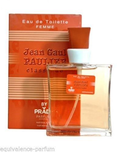 Eau De Toilette Jean Gaul Paulier Pour Femme 100 ml