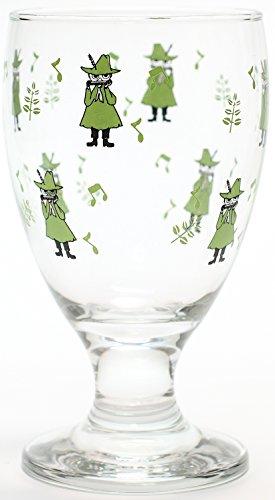 タカサカ・インターナショナル・ジャパン MOOMIN(ムーミン) ジュースグラス simple スナフキン MM-G015 クリア