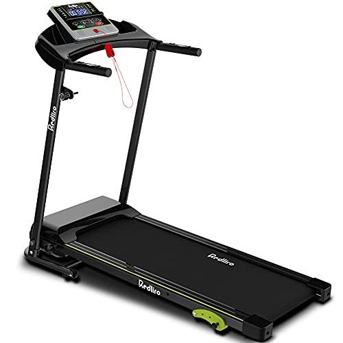 REDLIRO Folding Treadmill for Home Jogging/Walking with...