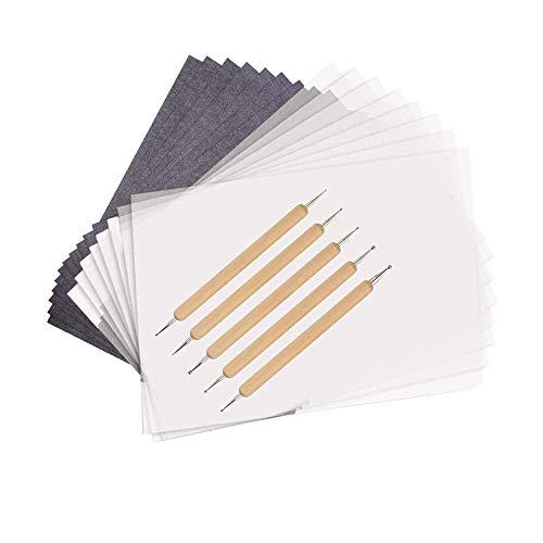 150 Blatt Schwarzem Pauspapier Carbonhaltige Durchschreibepapiere Carbon Transferpapier Copy Paper