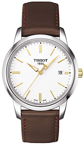 Tissot Classic Dream Herrenuhr Lederband T0334102601101