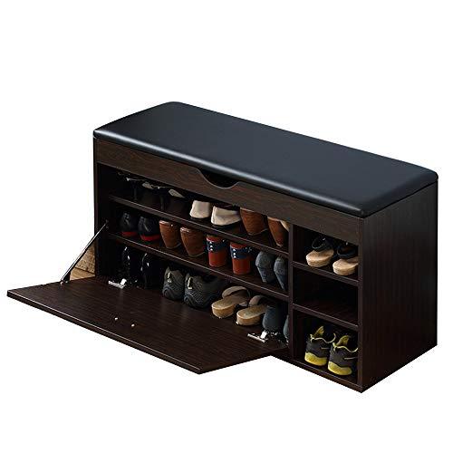 SEXSY- Verander de schoen bank, deur opslag kruk zit/bank Bed kruk bruin 2 layer-100cm