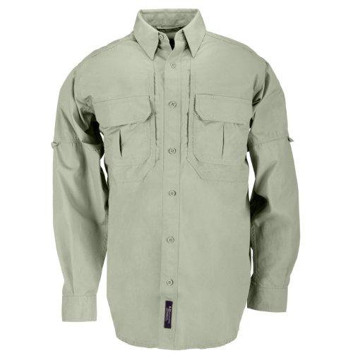 5.11 Tactical Tactical Long-Sleeve Shirt, Sage, 3X-Large