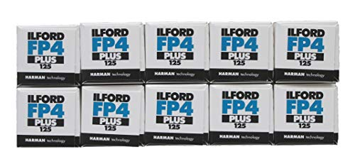 Ilford fp4 + schwarzweiß-Film, 120/125 ASA, großpackung von 10 [Kamera]