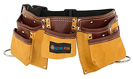 Active Kyds Leather Tool belt for kids