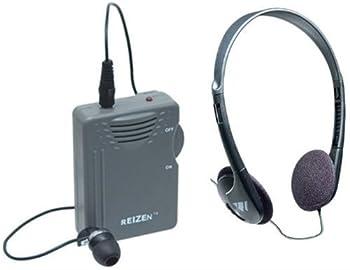 Elite Package  Reizen Loud Ear 120dB Gain Personal Amplifier with Earphone and Extra Headphones