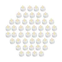 100% Safe–meglio essere sicuri che désolé, queste candele a LED sono senza fiamma e senza fumo, assolutamente alcun rischio di incendio o rischi di ustioni, cassaforte per le famiglie con bambini o animali. Perfetto per matrimoni e decorazioni–qu...