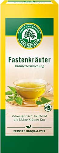Lebensbaum Kräutertee Im Teebeutel - Fastenkräuter (Enthält Koffein), 30 g